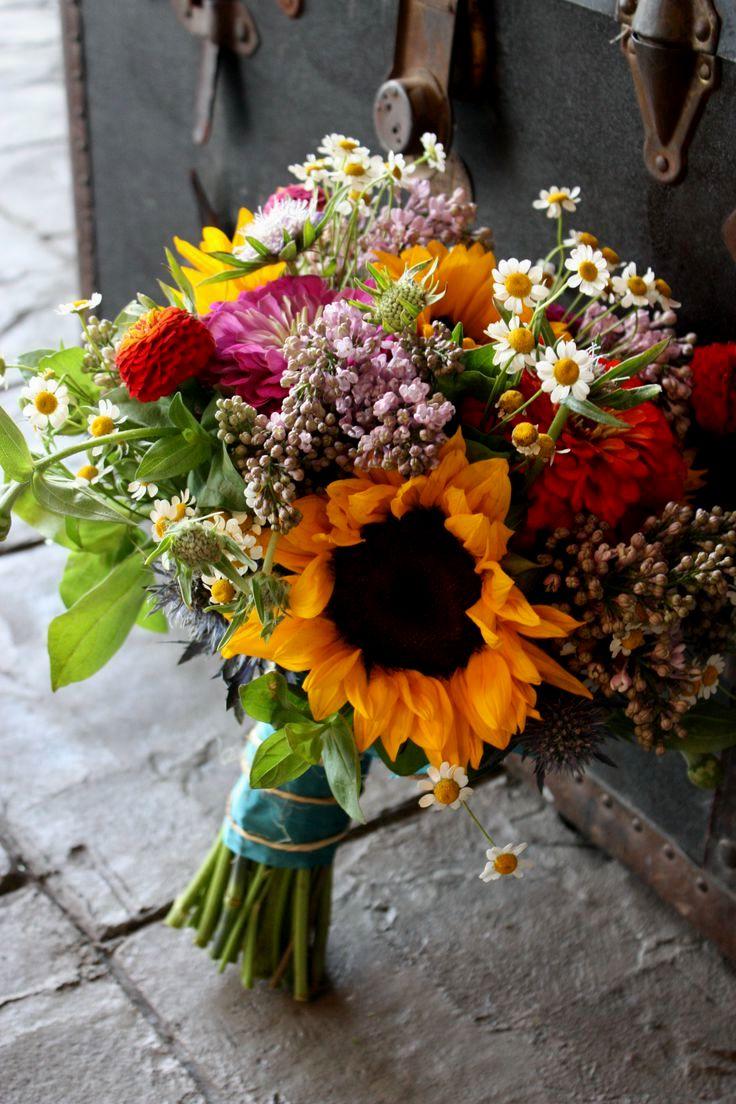 Diy Bridal Bouquet Fake Flowers Wedding