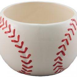 "3.75"" x 4.5"" Ceramic Baseball"