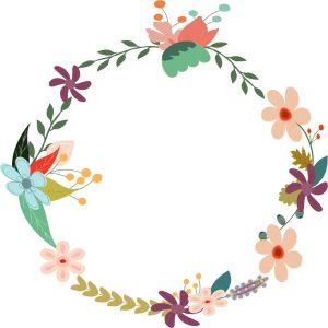 autumn wreath clip art