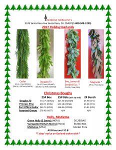 Christmas Greens & Garland Flyer 20171